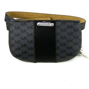 Michael Kors Fanny Pack Logo Signature Belt Bag L XL