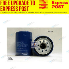 Wesfil Oil Filter WZ411 fits Ford Courier PC 2.6 i 4x4,PC 2.6 i,PD 2.6 i 4x4,