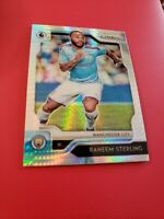 2019-20 Panini Prizm Premier League RAHEEM STERLING EPL Hyper Prizm Man. City