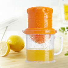 Portable Manual Hand Citrus Juicer Orange Lemon Fruit Juice Maker Squeezer Tool