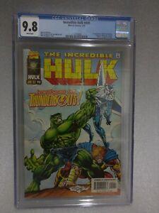 Incredible Hulk #449 CGC 9.8 1997 Marvel Comics Slabbed 1st app Thunderbolts NM