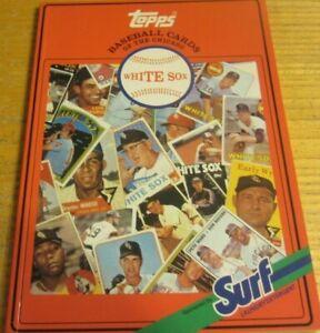 1987 Surf Topps Baseball Chicago White Sox   Baseball Cards 1952-86