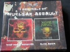 Nuclear Assault - Third World Genocide / Alive Again (SEALED 2x CD 2008) ANTHRAX
