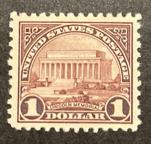 TDStamps: US Stamps Scott#571 Mint NH OG Gum Skip