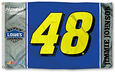Jimmie Johnson #48 NUMBER Version 3x5 Flag Outdoor Banner Nascar Racing