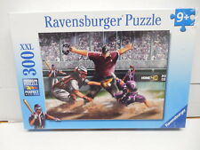 Ravensberger Baseball Jigsaw Puzzle Sliding Into Home Plate