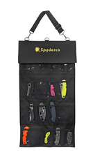 Spyderco Small SpyderPac 18-Knife Carrying Case Black Polyester Cordura SP2