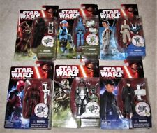 "Star Wars Set of 6 TFA 3.75"" Figures-Kylo,Rey,Phasma,General Hux,PZ-4C0,Guavian."