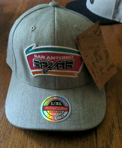 Mitchell and Ness NBA San Antonio Spurs High Crown Fitted Hat, Cap, New