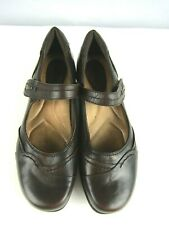 EARTH Mary Jane Size 7.5B Clover Brown Leather Women's Shoe