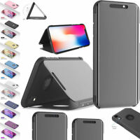 Luxury Intelligent Smart Mirror Flip Case Stand Cover for iPhone 7 8 XS Max XR