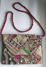 one Vintage  Indian Handmade  Women Purse  Fancy Handbag Party Bag