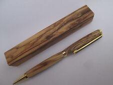 Bethlehem Olive Wood Pen + One Olivewood Pen Blank, Figured (see photo) Handmade