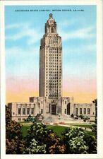 Postcard Louisiana State Capitol Baton Rouge LA