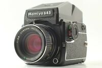 【NEAR MINT】 Mamiya M645 1000s Sekor C 80mm f2.8 AE Finder 120 Back from JAPAN