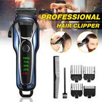 Elektrisch Trimmer Haarschneidemaschine Schnurrbart Rasierer LCD Display Kit