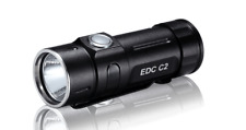FOLOMOV EDC-C2 High CRI 400 Lumens Flashlight with USB Rechargeable Battery and