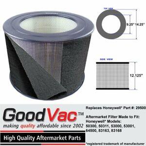 GoodVac Replacement for 29500 Honeywell Air Purifier HEPA Filter