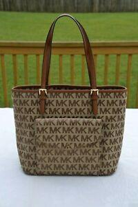Michael Kors Large Pocket Multi Function Shopper Tote Bag Ex Used Cond Purse