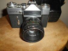ZENIT E with HELIOS -44-2  2/58 Lens