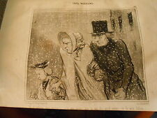 HD 2717 - DAUMIER 1843 Types Parisian No.50 One size me emBeasts mon wife