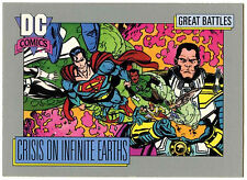 Crisis On Infinite Earths #145 Impel 1991 DC Comics Trade Card (C289)