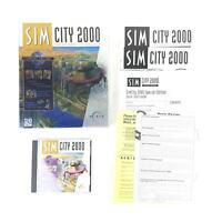 SIM City 2000 Special Edition Big Box Complete Windows PC Urban Renewal Disaster