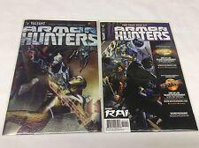 ARMOR HUNTERS #1 (VALIANT/VENDITTI/BRAITHWAITE/FCBD/0815249) COMIC BOOK SET OF 2