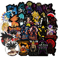100Pcs/Lot Dragon Ball Decal Sticker bomb Luggage Skateboard Car Laptop Stickers