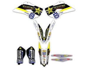 Husqvarna KIT & PLATES GRAPHICS  2014-2015 TC FC FX 125-450 / 2015-2017 TE FE
