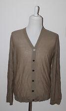 AUTH $395 Burberry Men's 100% Cashmere Cardigan Sweater XL