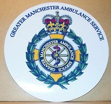 Ambulance Service Personnel Greater Manchester vinyl sticker.