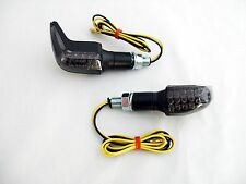 LED negra mini intermitentes atrás Heck suzuki GSR 600 wvb9 smoked rear signals