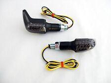 Schwarze LED Mini Blinker hinten Heck Suzuki GSR 600 WVB9 smoked rear signals
