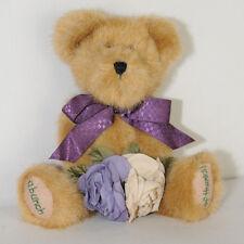 Boyds Teddy Bear Plush Stuffed Animal Flowers a Bunch Thanks Toy Tan