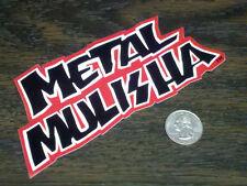 "METAL MULISHA Red 6"" Logo Sticker Car Window Decal Riging Gear Nitro Circus 15cm"