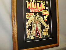 Incredible Hulk   First Issue Comic Book  exhibit Full color Big Apple comic con