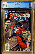 HARLEY QUINN #1 CGC 9.6 IN HER 1ST ONGOING SERIES BIRDS OF PREY (2000) DC