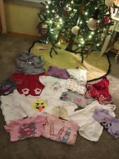 Lot Of 16 USED Toddler Girl 4T Baby Gap, Crazy 8, The Childrens Place, Cat Jack
