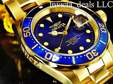 Invicta Men's 40mm Pro Diver Swiss Movement Admiral Blue Dial 18K GP SS Watch