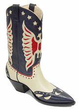 Rancho Loco Roy Rogers Classic Cowboy Boots Men's Size 9D