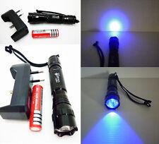 Linterna de luz ultravioleta (UV)  1 Cree + Regalo bateria y cargador