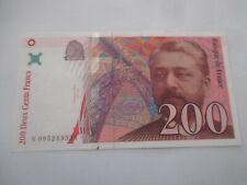 tres beau billet 200 francs GUSTAVE EIFFEL 1999 avec son craquant N 095243558