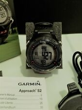 Garmin Approach S2 Black/Red GPS, Odometer, Scorecard Golf Watch