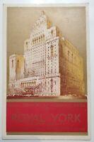 Vintage Royal York Hotel Toronto Canada Postcard