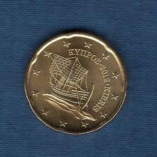 Chypre - 2012 - 20 centimes d'euro - Pièce neuve de rouleau -