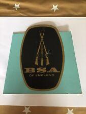 BSA ADVERTISING SIGN COUNTER SIGN BIKES RIFLES SHOP SIGN BIRMINGHAM