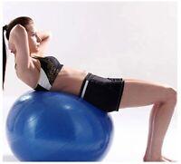 Yoga Ball Gym Fitness Pilates Exercise Balance Swiss Ball + Free Pump 65 cm