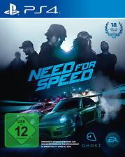 Need for Speed (Sony PlayStation 4, 2017) Artículo nuevo