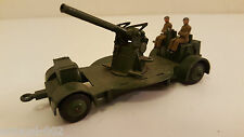 Dinky Toys Atlas - 161 B / 690 US - A A Gun on trailer (Canon DCA anti aérien)